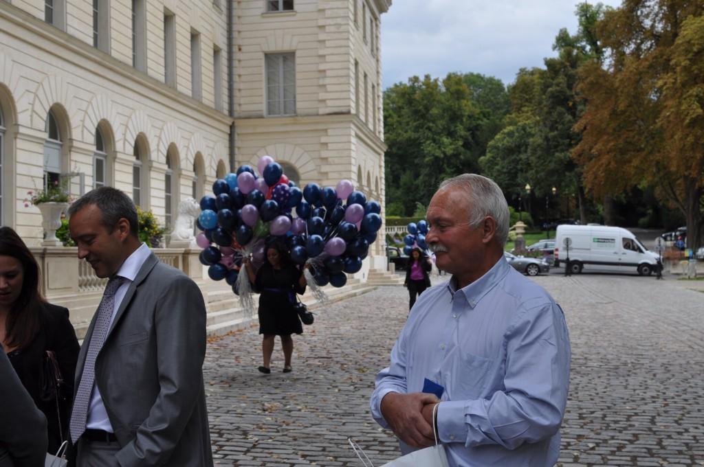 Le mariage de princesse en bleu de Madame D - cérémonie et vin d'honneur (18)