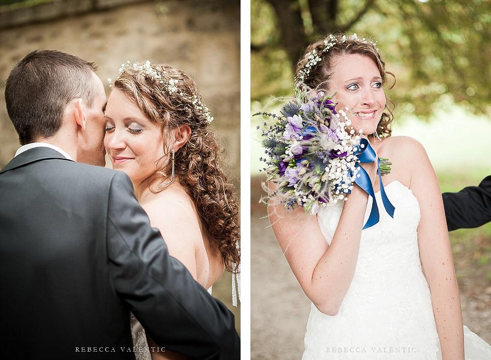 Le mariage de princesse en bleu de Madame D - cérémonie et vin d'honneur (6)