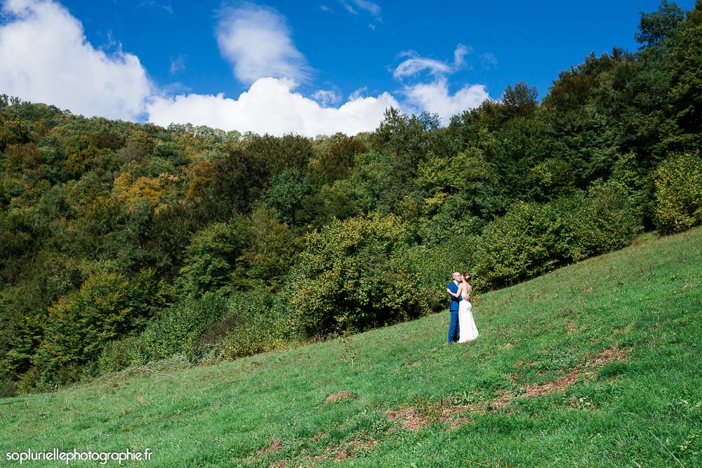 Séance photos dans les champs de Mme Suzette - Sonia Blanc