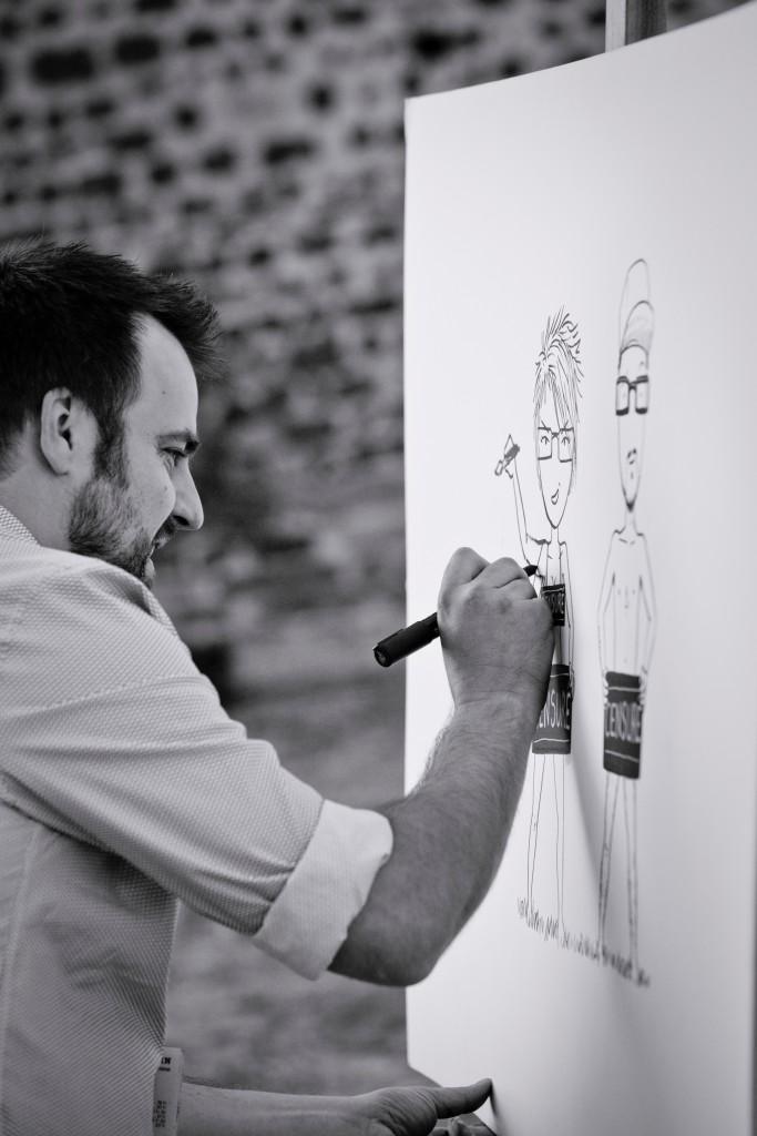 Présentation de nos prest'amis : Romain Lubière // Photo : Pierre Grasset