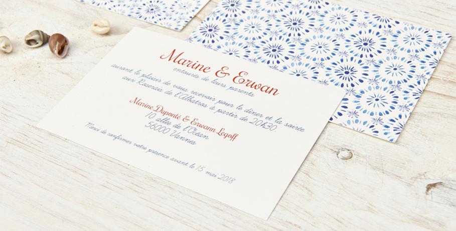 Gagne tes faire-part de mariage sur Popcarte.com