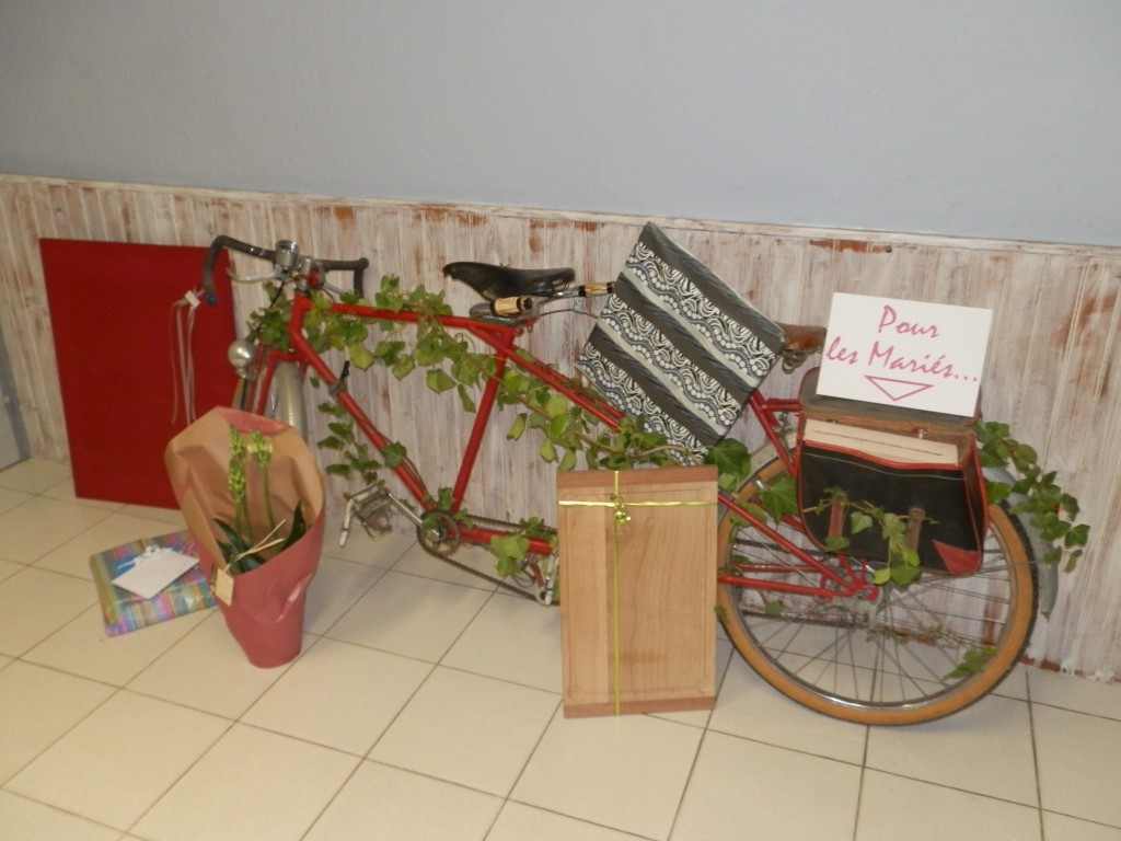 Mariage Mme Vélo - Nicolas F et Ketty