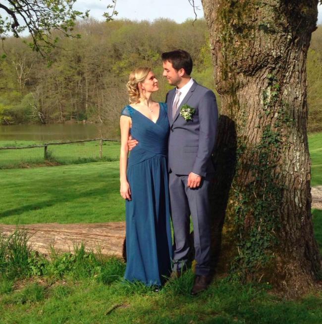 Mlle Cendrillon et son fiancé