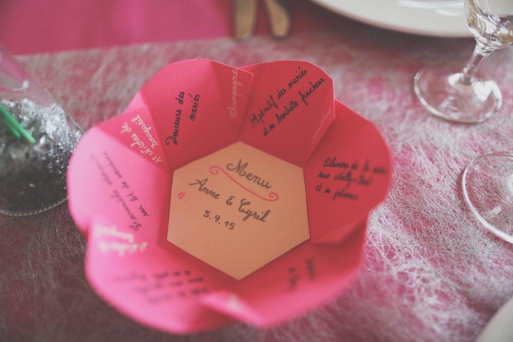 Mariage crème et fuchsia de Anne - Tuan Nguyen