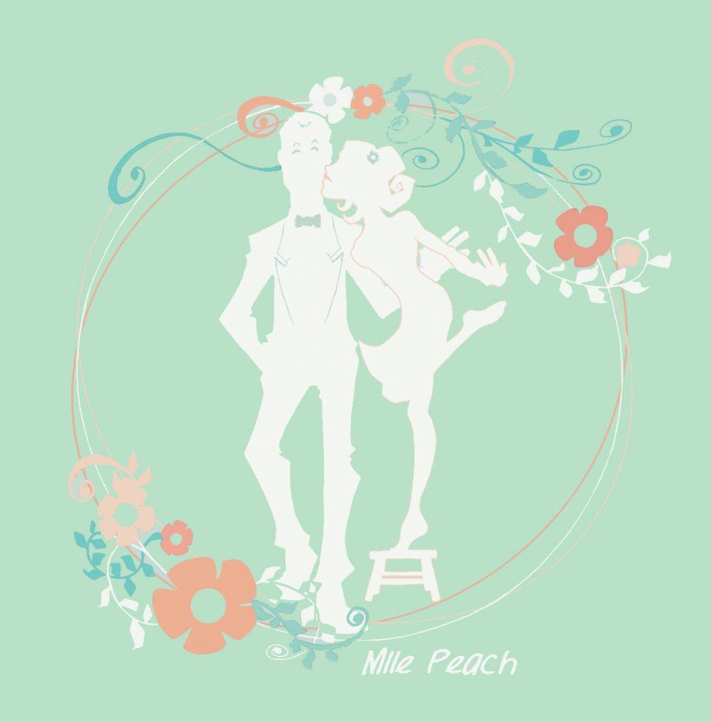 Faire-part Mlle Peach