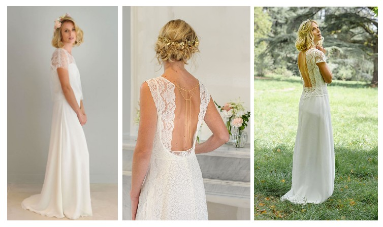 Robe de mariée Louise Dentelle