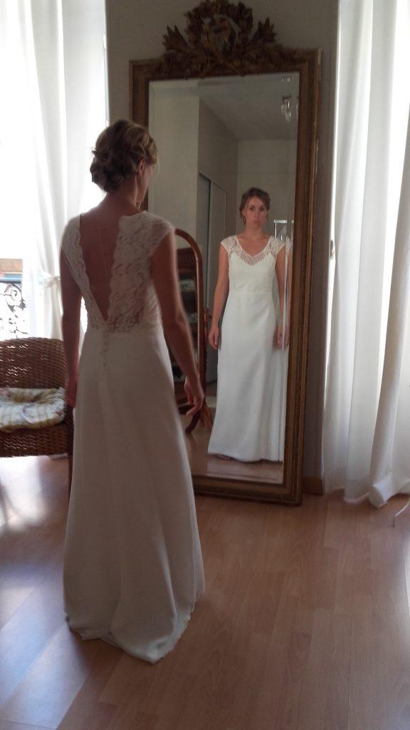 Faire faire sa robe de mariée par une créatrice