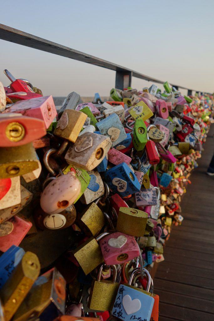 Les cadenas des amoureux de la N-Seoul Tower