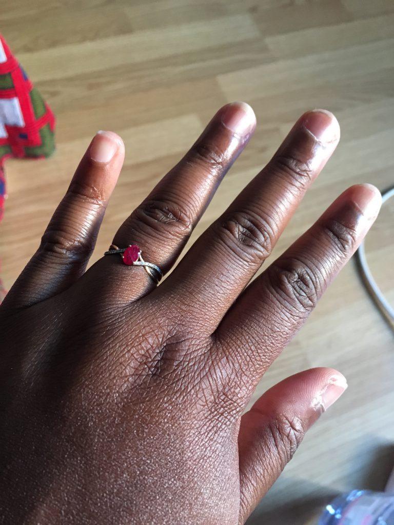 L'histoire de ma demande en mariage... et mes 2 bagues !