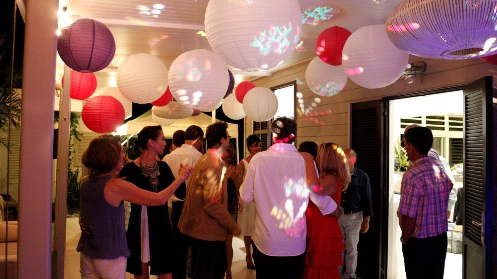 Réception du mariage à notre domicile // Photo : David Becker