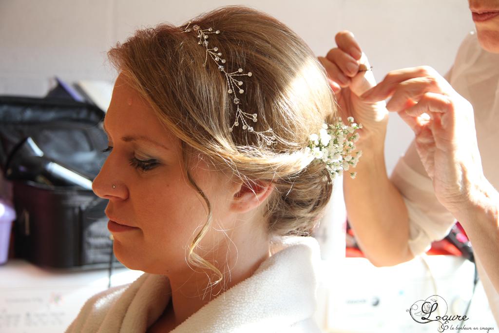 Préparatifs de la mariée // Photo : Laure et le bonheur en images