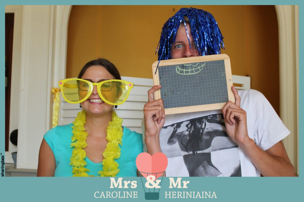 Brunch et session photobooth pour le retour de noces !