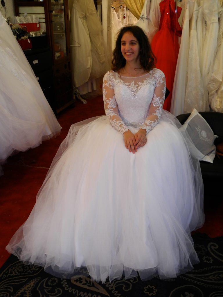 Mes essayages de robe en Auvergne