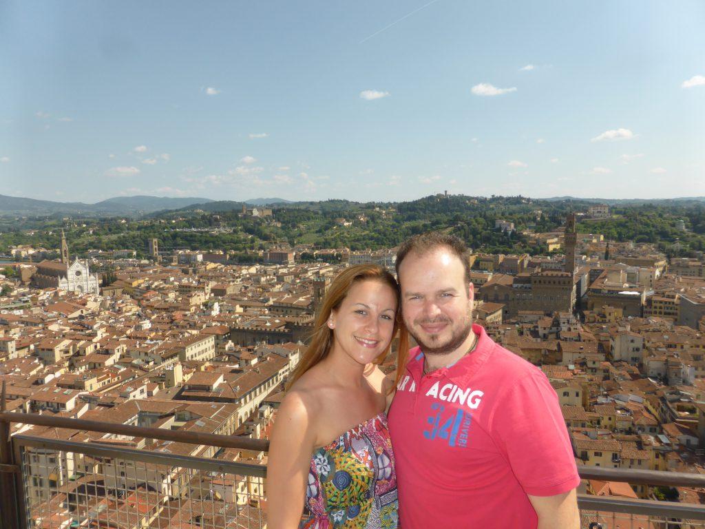 Voyage de noces à Florence