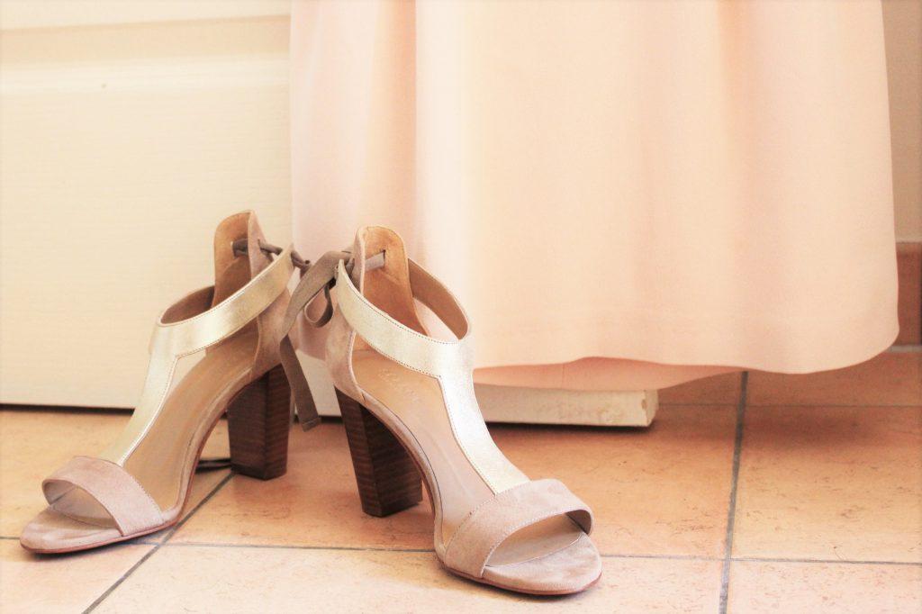 La quête pour mes chaussures de mariée
