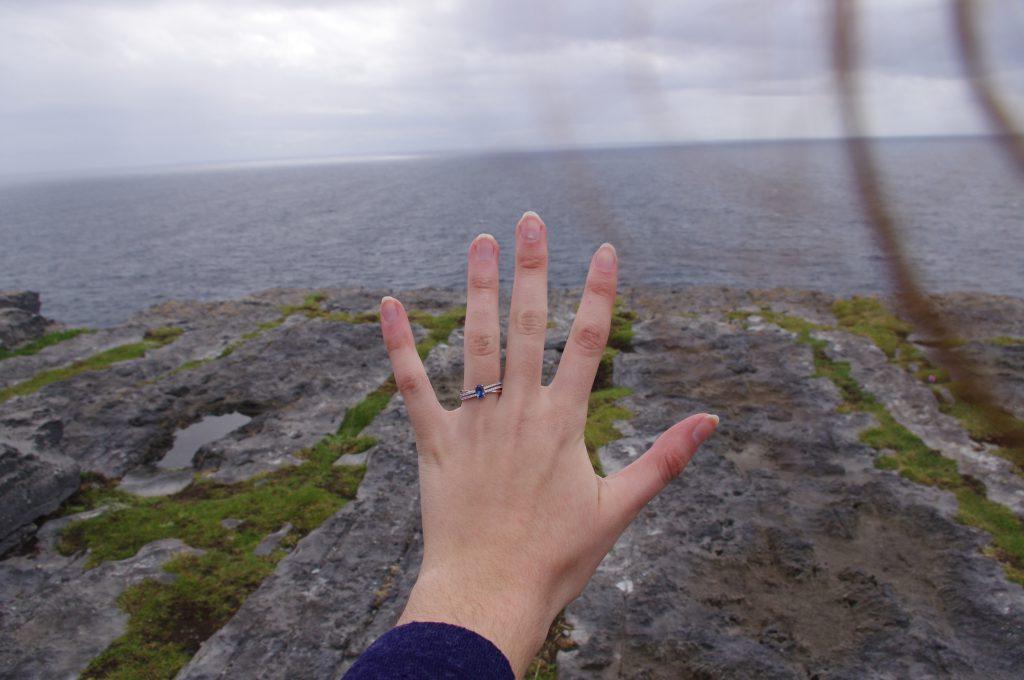 Ma demande en mariage en Irlande