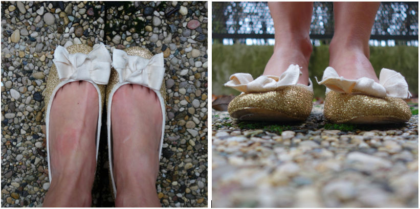 Comment je me suis retrouvée avec 4 paires de chaussures pour mon mariage !