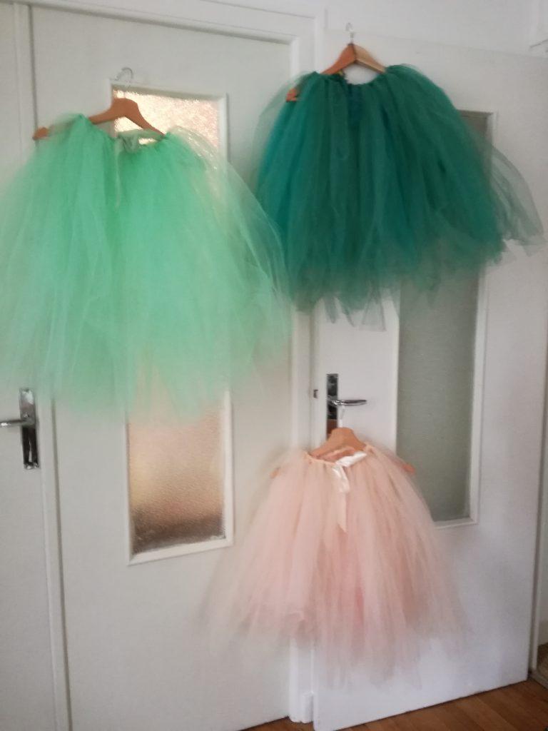 DIY jupe sans couture pour demoiselles d'honneur