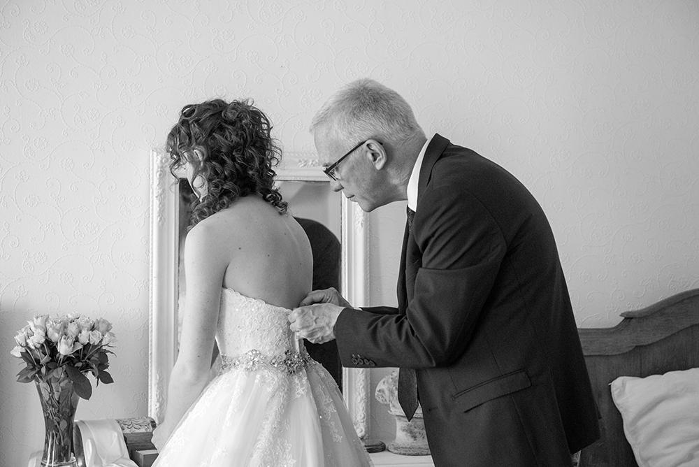 Les préparatifs de la mariée le jour J