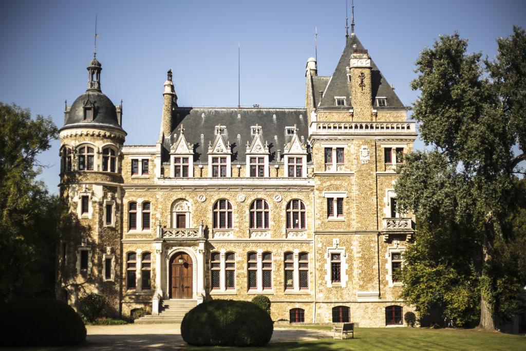 Notre recherche de salle pour le mariage : le château de Meridon