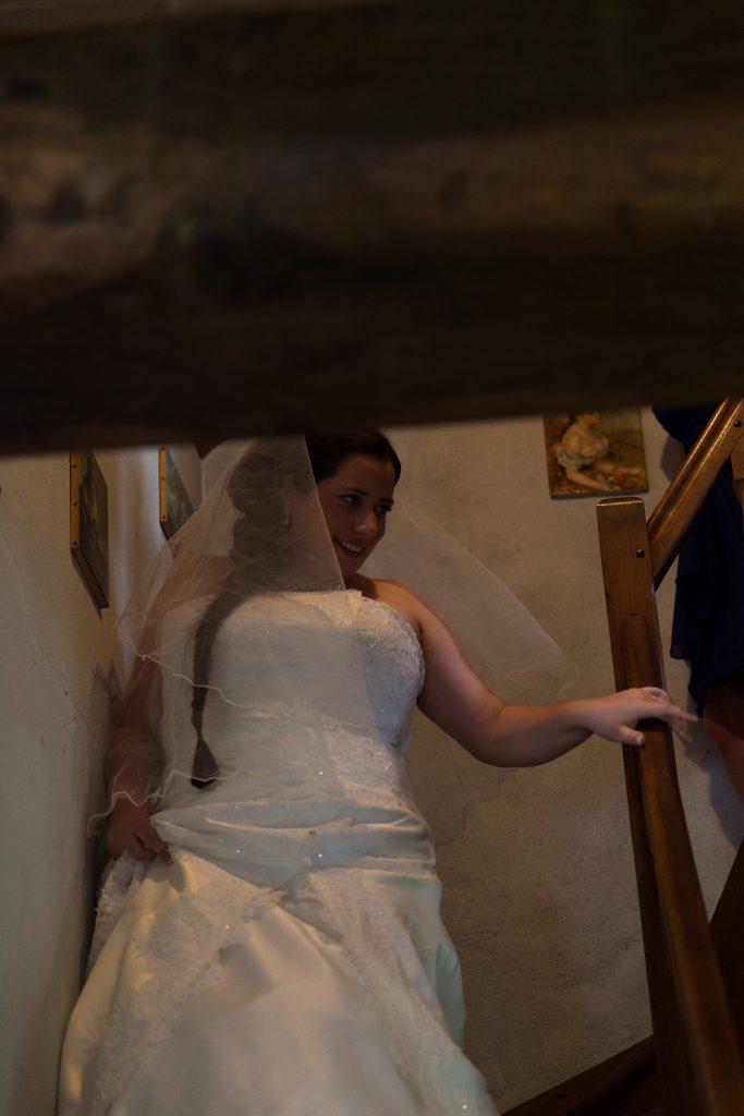 Préparatifs des mariés le jour J // Photo : Castille Alma