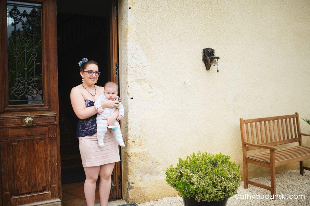 Organiser son mariage avec un bébé de 5 mois ! // Photo : Cathy Dudzinski