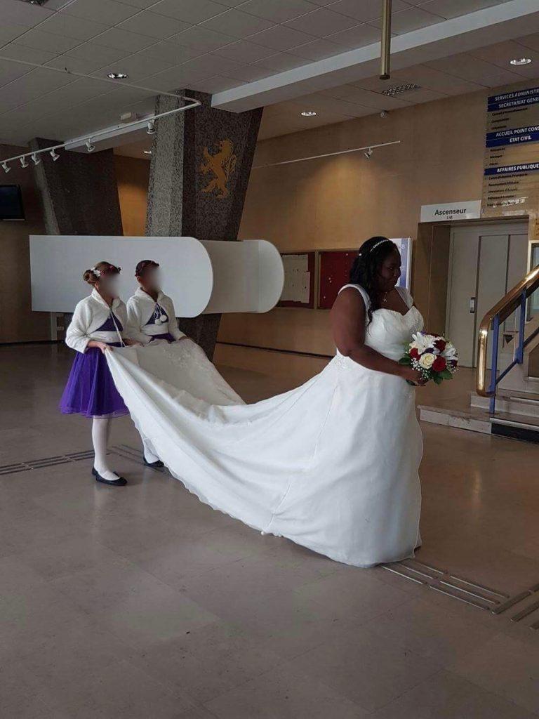 La mariée aura 2 robes !