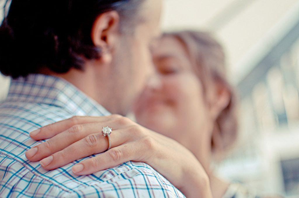 Une chasse au trésor... vers une demande en mariage !