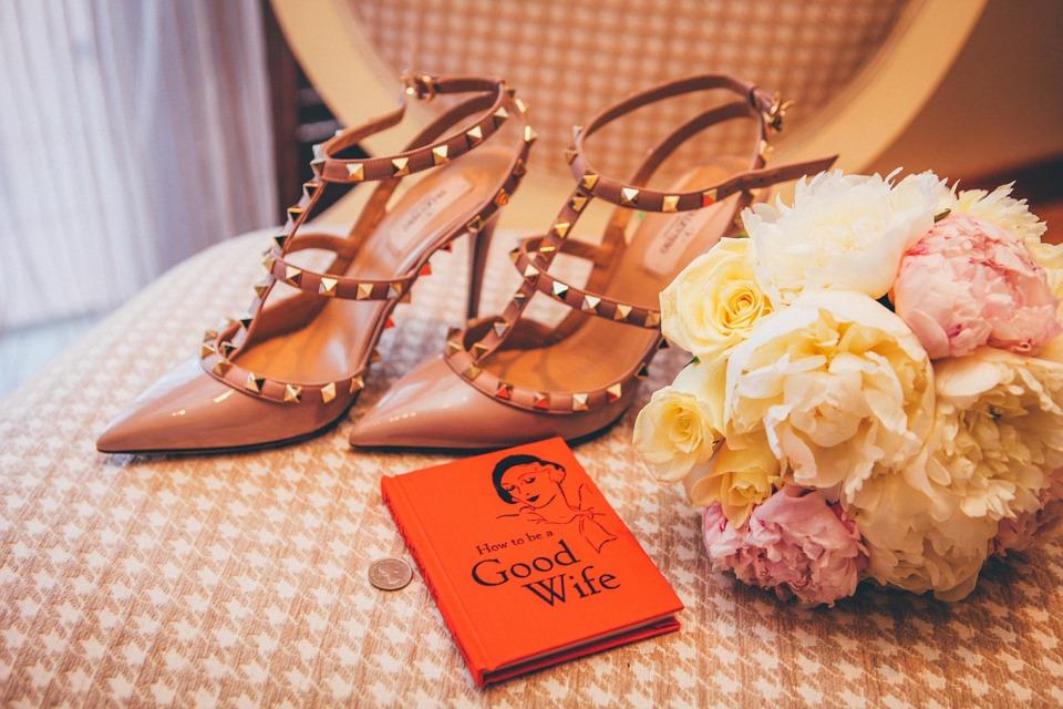Trouver les chaussures idéales pour le mariage