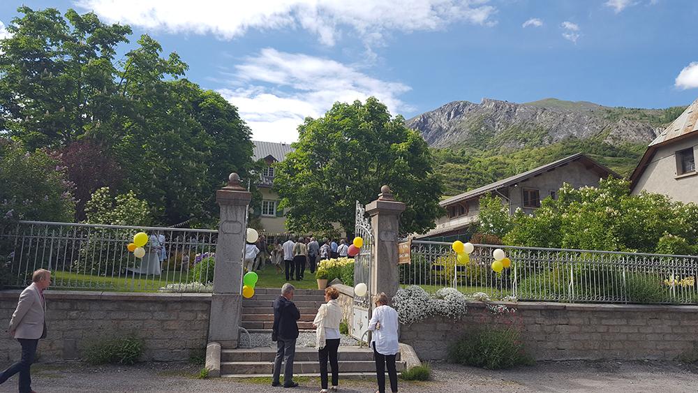 Mariage à la montagne