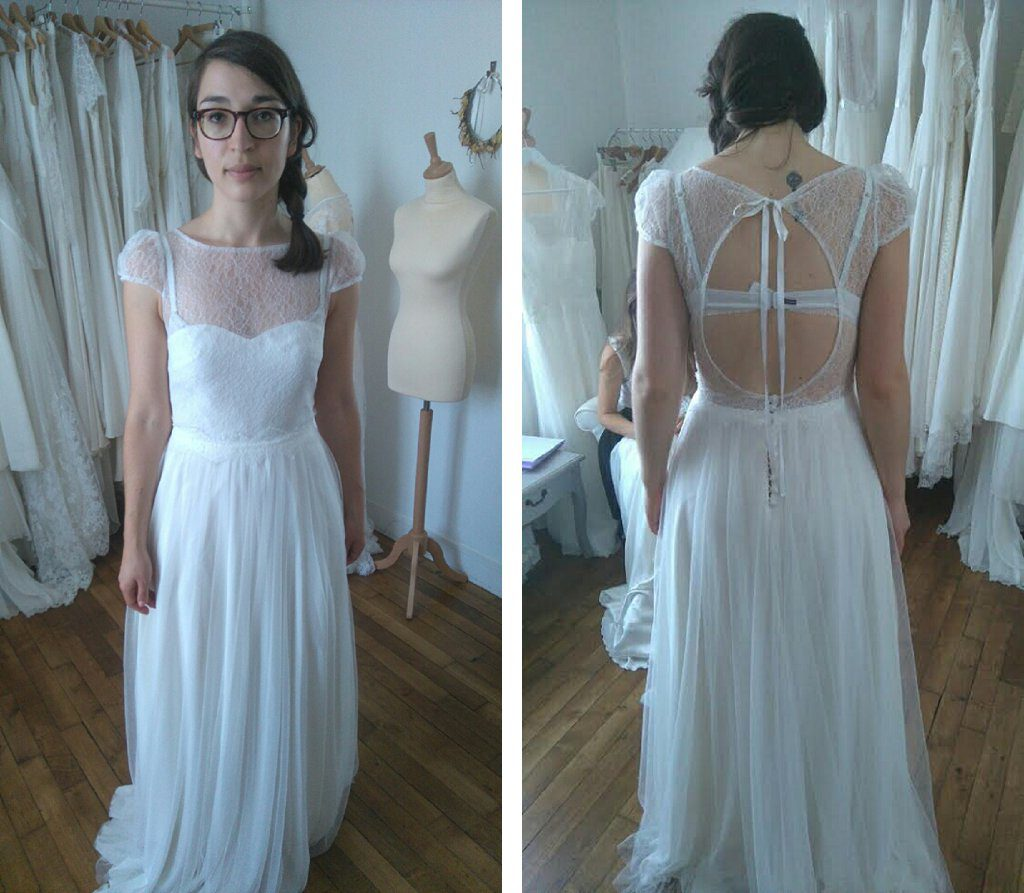 Essayage robe de mariée coup de coeur