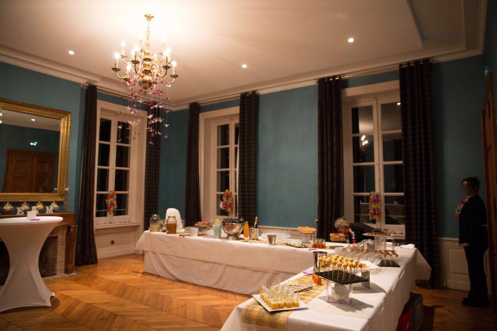 Décoration DIY salle // Photo : Vincent Besson