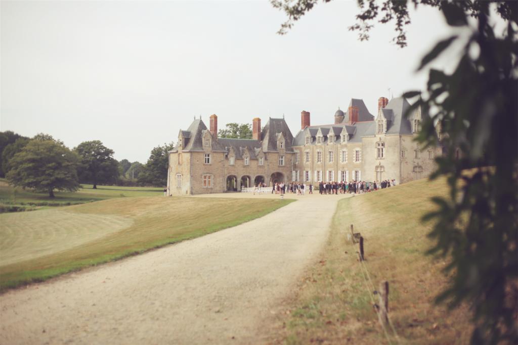 Recherche de château pour mariage en Pays de la Loire // Photo : Cécile Picard