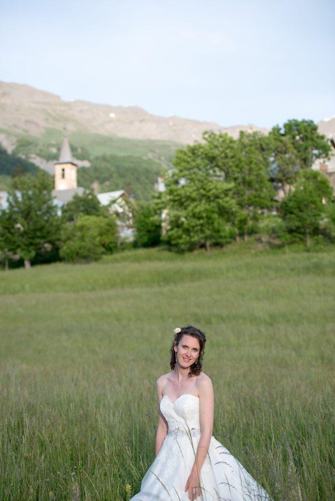 Mariage à la montagne Mme SDF - Crédit Cédric Moulard