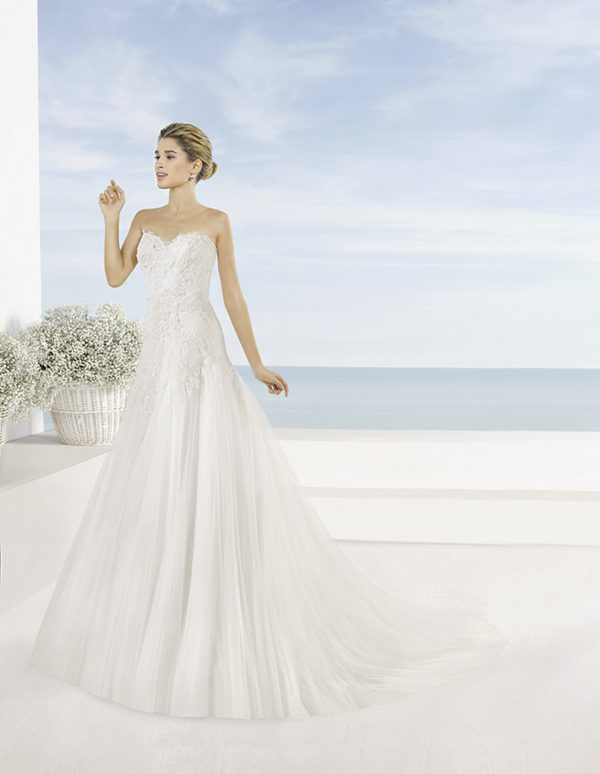 Robe Laurel Luna Novia