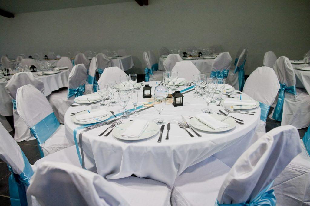 J-1 : la décoration du lieu du mariage