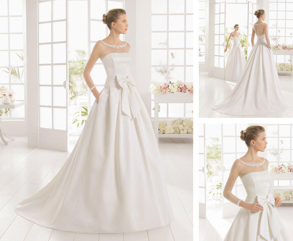 Recherche robe de mariée Aire Barcelona