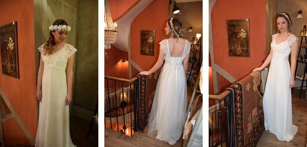 Recherche robe de mariée bohème