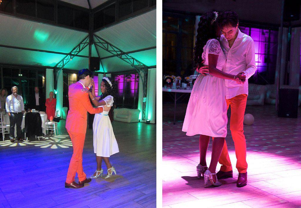 Mariage mink et funky