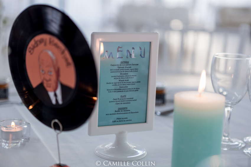 Mariage mink et funky // Photo : Camille Collin
