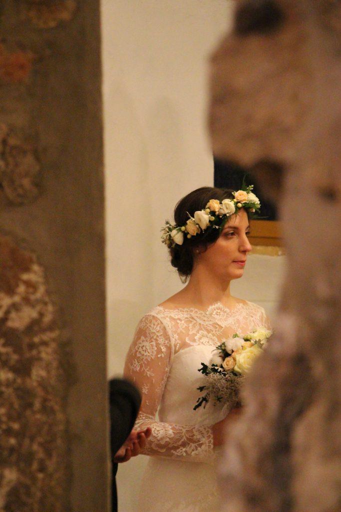 Arrivée cérémonie Mme Origan
