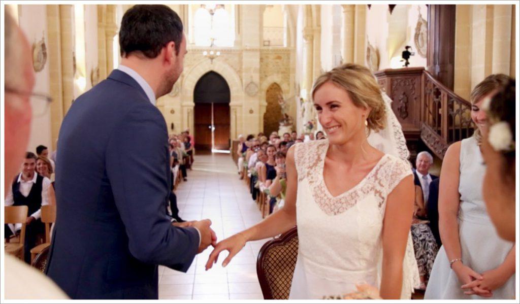 Déroulé de notre cérémonie à l'église