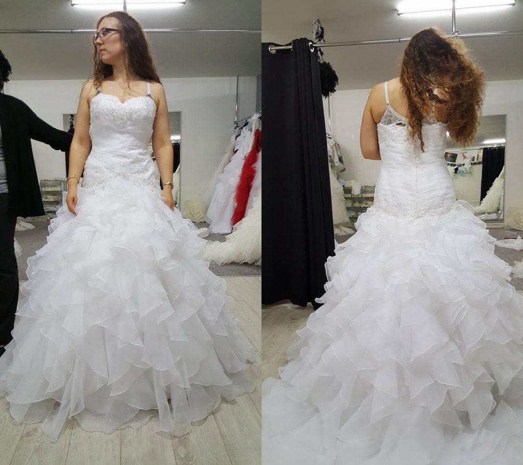 Mes essais de robes de mariée dans le Nord de la France