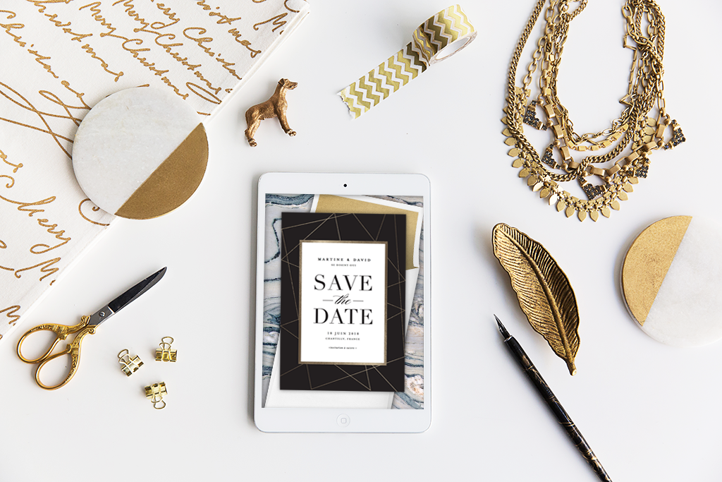 Un save-the-date : pourquoi, quand et comment ? // Photo : Greenvelope