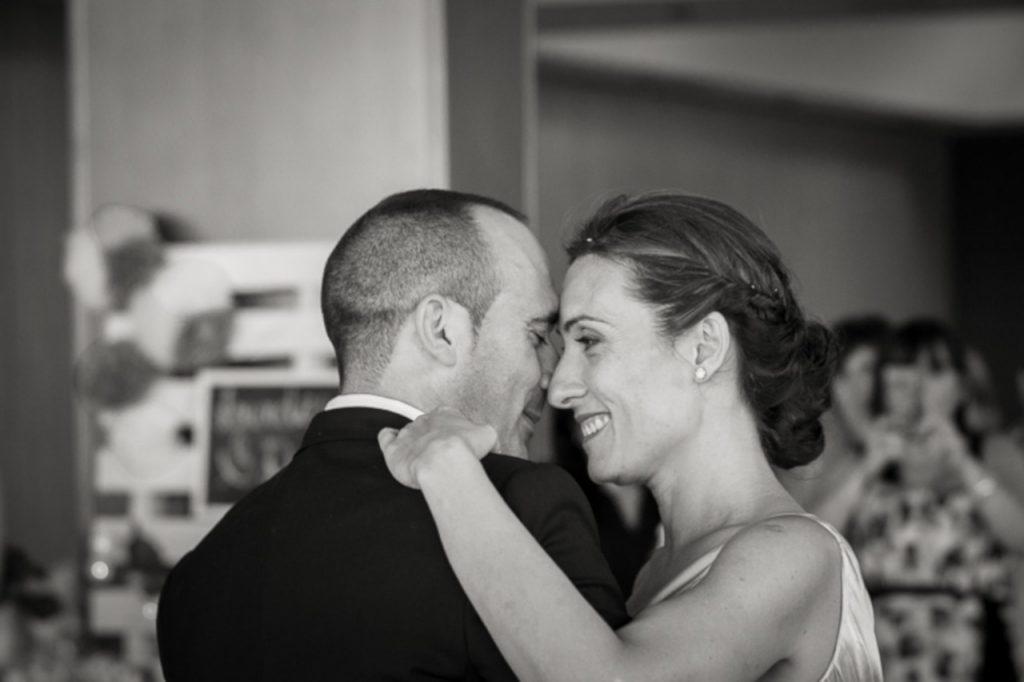 Peur de la première danse du mariage
