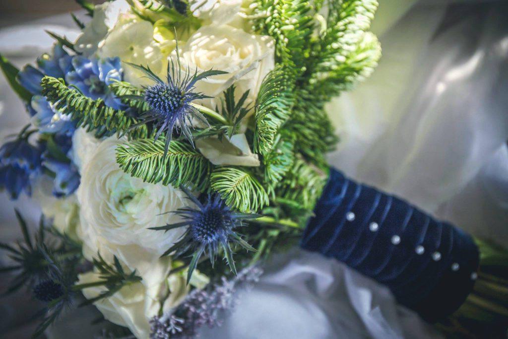 Bouquet de mariée d'hiver - Mariage Mme O'hara - Franck Guiraud