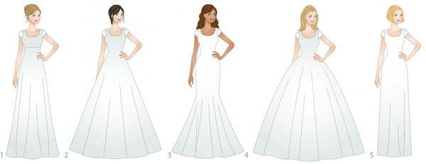 Je veux une robe de princesse pour mon mariage !