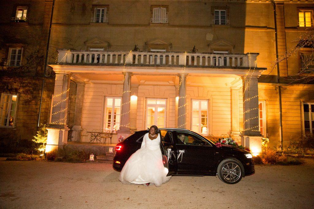 Arrivée de la mariée // Photo : Vincent Besson