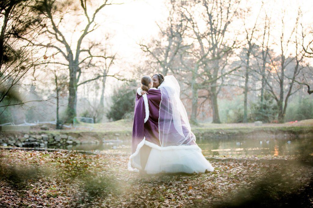 Photos de couple hiver // Photo : Vincent Besson