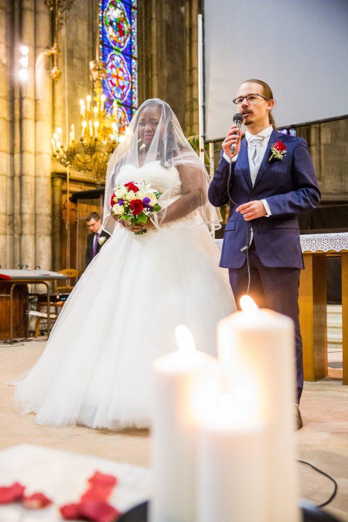 Mon arrivée à l'église // Photo : Vincent Besson Photographie
